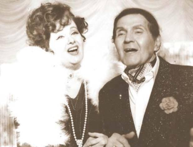 Gica Petrescu si Stela Popescu