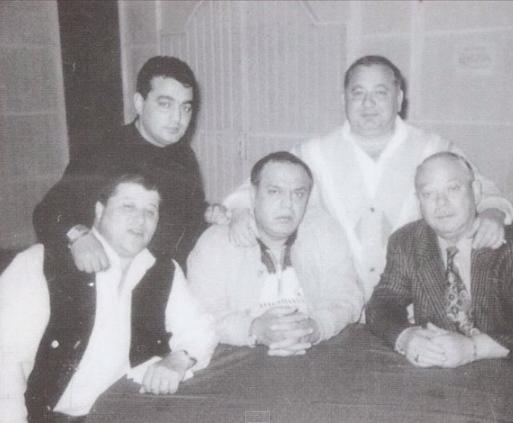 Gheorghe Lambru alaturi de Mihai Namol